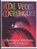 Mil Veces Merengue Caribbean Rhythms book.